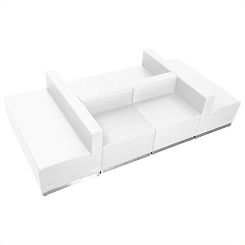 Pemberly Row 6 Piece Reception Seating in White
