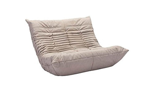 Zuo Down Low Loveseat Beige