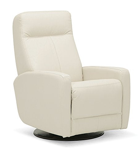 "Oliver Pierce OP0340 Elwin Swivel Glider Recliner, 19"", Cream"