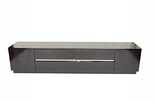 Limari Home LIM-12650 Connor TV Stand, Black