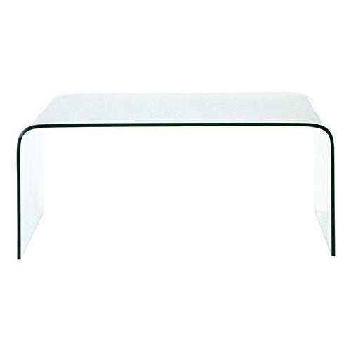 Zuo Sojourn Coffee Table, Clear