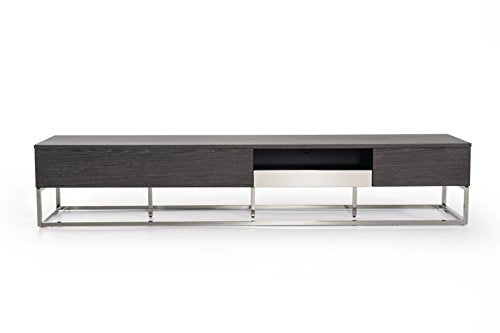 Limari Home LIM-73897 Diana TV Stand, Gray