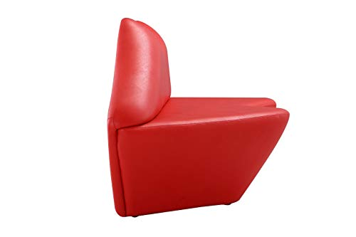 International Design USA Kiss Lip Leatherette Sofa