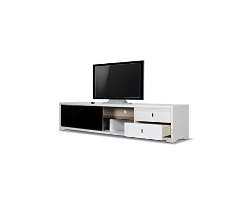 Limari Home LIM-15052 Blake TV Stand, White