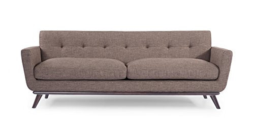 Kardiel Jackie Mid-Century Modern Classic Sofa, French Press Vintage Tailored Twill