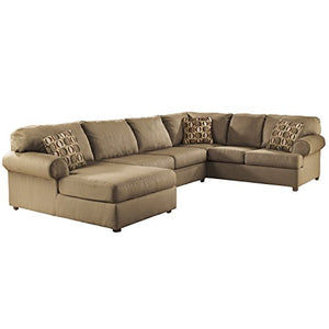 Signature Design by Ashley Cowan Sectional in Mocha Fabric