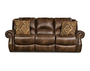 Cambridge 98529DRS-CO Stratton Double Reclining Sofa, Brown