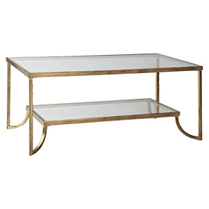Katina Gold Leaf Coffee Table