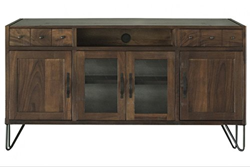 "Rustic Style Parota Wood 70"" TV Stand / Sideboard"