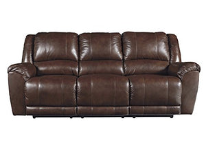 Signature Design by Ashley 6070288 Persiphone Reclining Sofa, Canyon