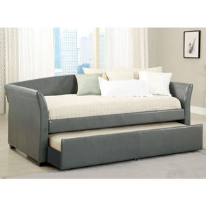 247SHOPATHOME IDF-1956GY Day-beds, Twin, Gray