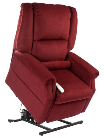 Mega Motion Windemere NM-101 Infinite Position Chaise Lounger Chair (Burgundy)