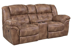 ComfortMax Furniture 1292215 Metcalfe 129 Reclining Console Loveseat