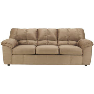 Flash Furniture Signature Design by Ashley Dominator Sofa in Mocha Fabric