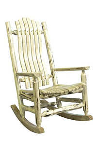 Montana Woodworks MWLRAZ Rocker Chair, Ready to Finish