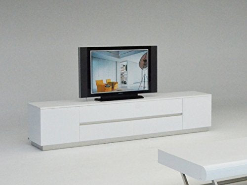 Limari Home LIM-12651 Connor TV Stand, White