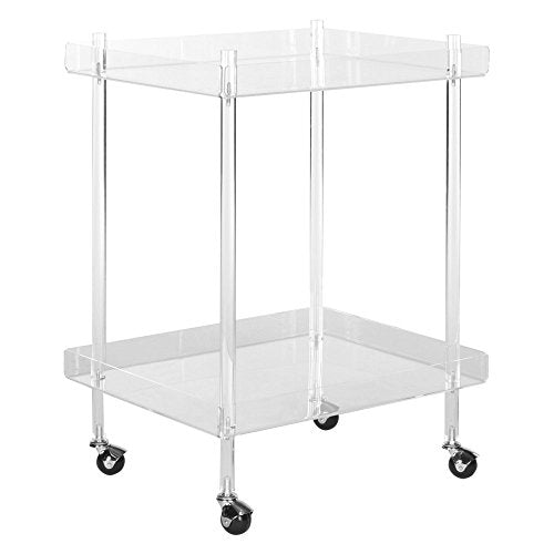 Safavieh Home Collection Healy White Kitchen Cart