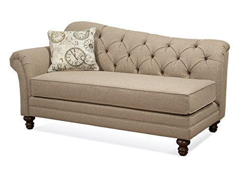 Serta Upholstery 8750CHS 8750CHS02 Restoration Style Chaise in Abington, Safari