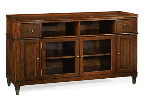 Hammary Entertainment Console in Rich Mahogany