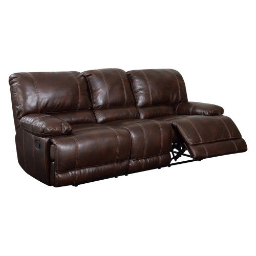 Global Furniture USA U1953-R/S-Global Piece Recliner Sofa Brown 940