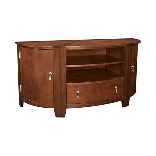 Beaumont Lane Entertainment Console in Cherry/Walnut