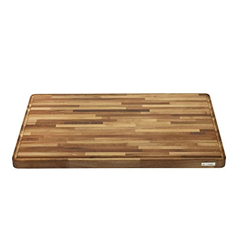 "Legnoart LA-WB-XL Grand Gourmand Cutting Board, 29.5"" by 20"" by 1.5"", Natural Walnut"