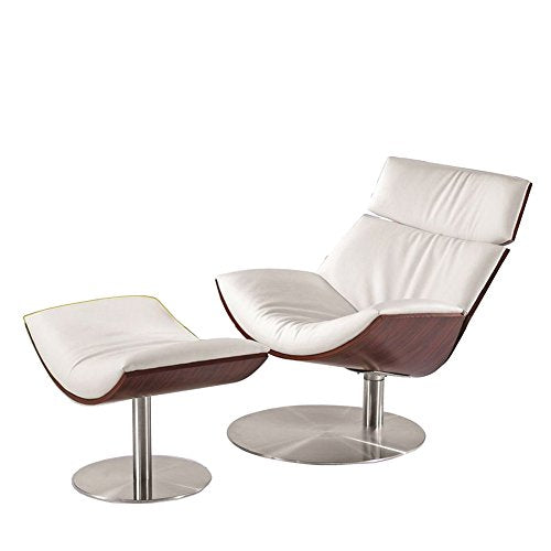 Fine Mod FMI8003-WHITE Impress Lounge Set, White