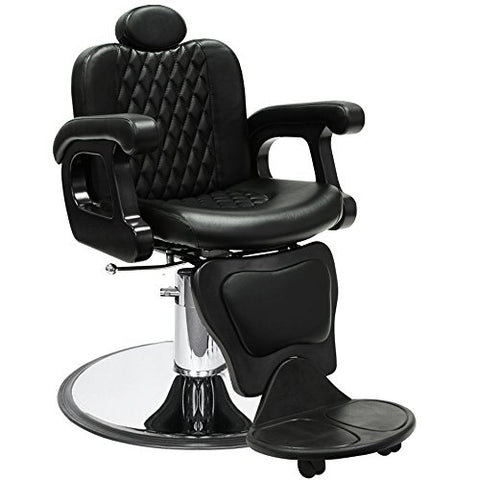 """PERSIA"" Contemporary Hydraulic Reclining Barber Equipment Chair BC-21BB"