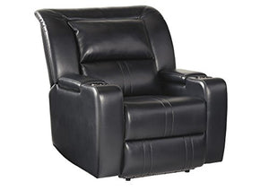 Signature Design by Ashley 7520406 Dossman Power Recliner, Midnight