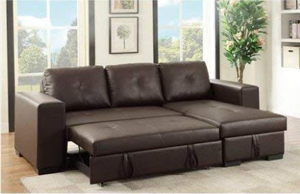 Benzara BM166740 Sofa, Brown
