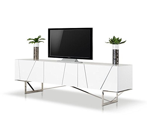 Limari Home LIM-15041 Omack Tv Stand, White