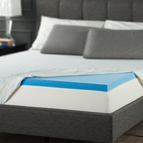 "Sleep Master 2"" Gel Memory Foam Topper - King"