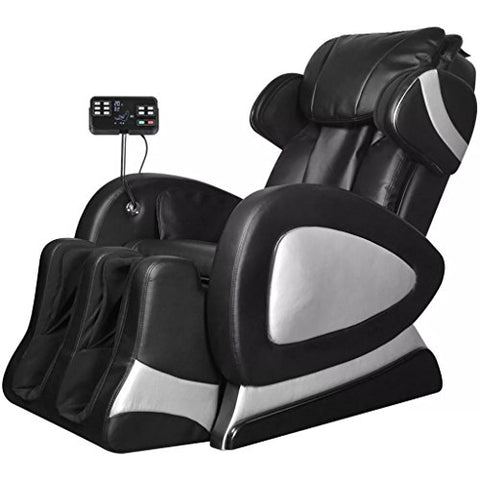 vidaXL Electric Massage Chair TV Recliner Sofa Artificial Leather Adjustable Armchair