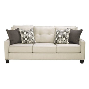Benchcraft - Guillerno Contemporary Upholstered Sofa - Alabaster