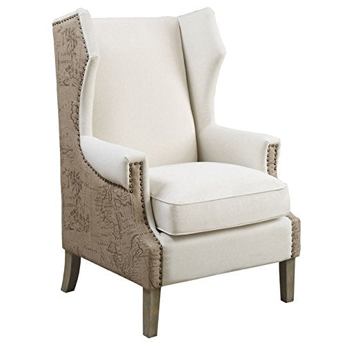 Home Square 3 Piece Living Room Set with (Set of 2) Accent Chairs and End Table