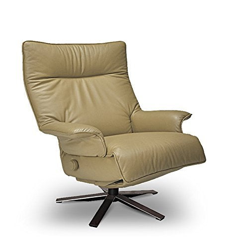 Lafer Valentina Recliner Chair by (Sand Genuine Leather FCH410)
