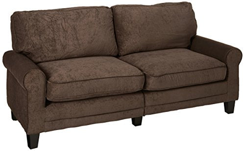 "Serta RTA Copenhagen Collection 78"" Sofa in Rye Brown"