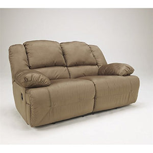 BOWERY HILL Reclining Loveseat in Mocha