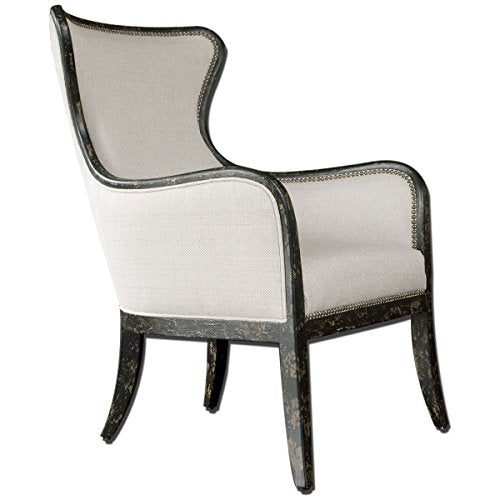Uttermost 23073 Sandy Wing Back Armchair