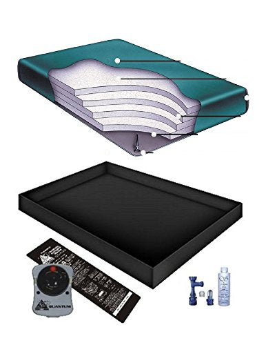 Boyd's 90% WAVELESS WATERBED Mattress/Liner/Heater/Fill Drain/Conditioner KIT (California King 72x84 Regency4g1)