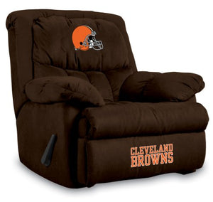 Imperial Officially Licensed NFL Furniture: Home Team Microfiber Rocker Recliner, Cleveland Browns
