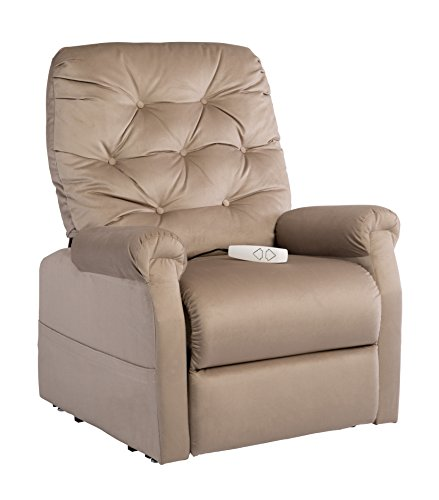 Mega Motion NM200 Alfred Power Recline Lift Option Chair, Medium, Camel