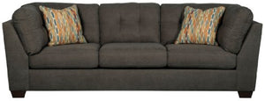 Benchcraft - Delta City Contemporary Living Room Sofa - Steel Gray