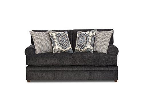 Simmons Upholstery 8530BR-02 Slate Bellamy Loveseat