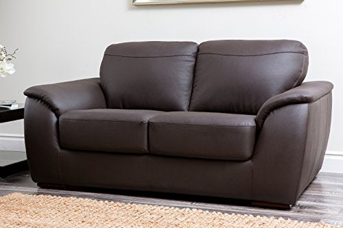 Abbyson Carlisle Leather Sofa