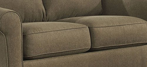 Ashley Furniture Signature Design - Zeth Sleeper Sofa - Twin Size - Easy Lift Mechanism - Contemporary Living - Basil