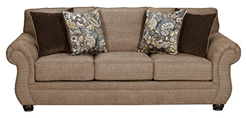Simmons Upholstery 4250BR-03 Emory Brownstone Emory Brownstone Sofa