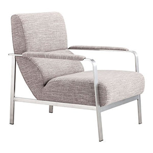 Zuo Jonkoping Arm Chair, Wheat