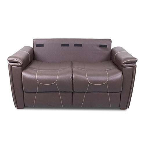 "Thomas Payne 377706 Majestic Chocolate 60"" Trifold Sofa"