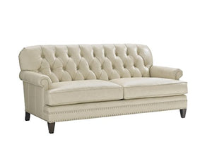 Oyster Bay - Hillstead Leather Settee